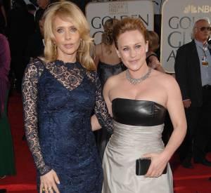 Rosanna et Patricia Arquette aux 46ème Golden Globes Awards en 2007.