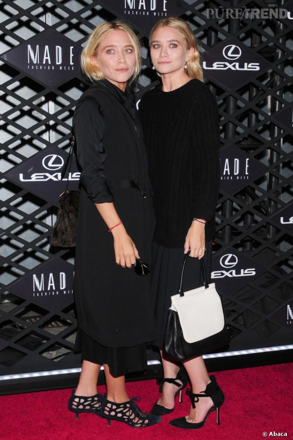Mary-Kate et Ashley Olsen à New York, le 5 septembre 2013.