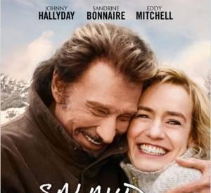"""Dans le film de Claude Lelouch, """"Salaud, on t'aime !"""", Sandrine Bonnaire et Johnny Hallyday joue un couple attachant. En salles, le 2 avril 2014."""