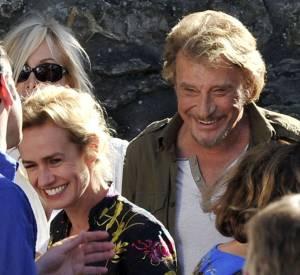 """Sandrine Bonnaire, elle raconte sa rencontre et son coup de coeur artistique pour Johnny Hallyday avec qui elle partage la vedette dans """"Salaud, on t'aime !""""."""