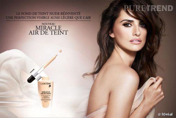 Pour la team l'Oréal, Penelope a tout fait depuis 2006. Fond de teint, parfums, rouge à lèvres, mascara, Penelope est l'égérie idéale.