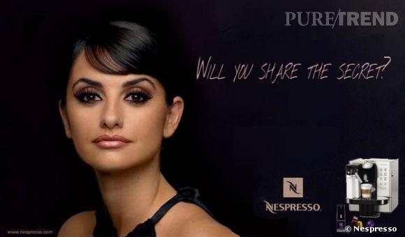 Après Georges Clooney, Penelope devient la star de la campagne Nespresso.