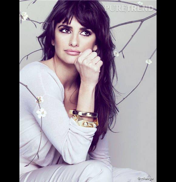La star de Mango c'est elle, à partir de 2009 et pendant 3 collections d'affilées, l'actrice va représenter la marque espagnole.