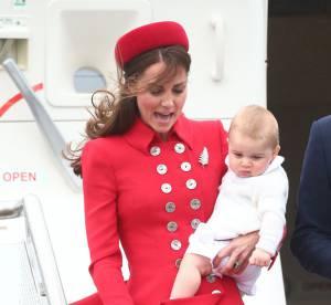 Kate Middleton et Prince George : les fesses à l'air en Nouvelle-Zélande !