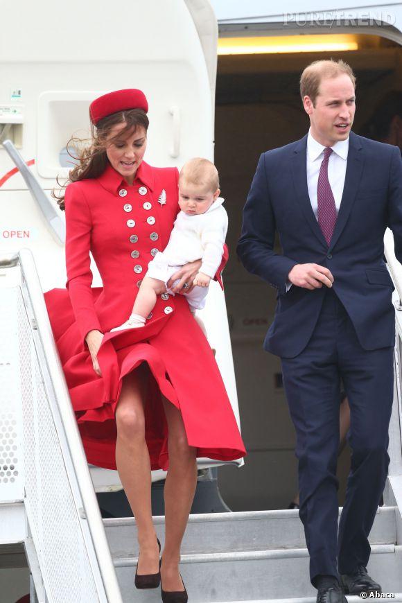 Kate Middleton et Prince William : couple glamour en Nouvelle-Zélande avec Baby George.