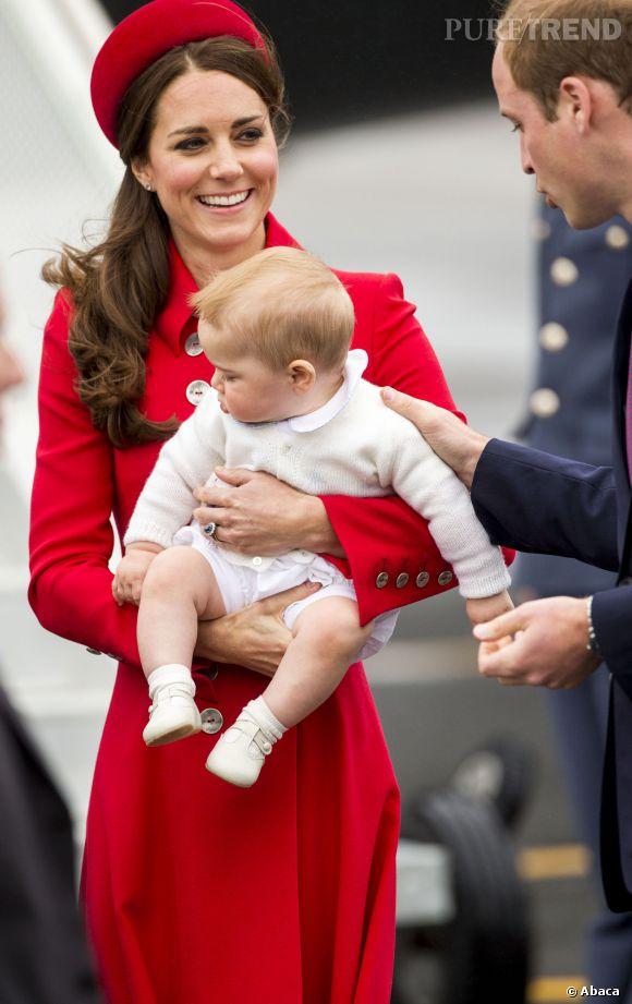 Kate Middleton et Baby George, inséparables !