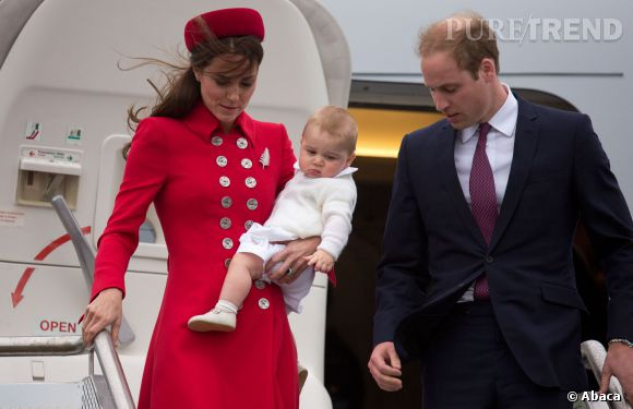 Kate Middleton, Prince William et baby George, trio glamour et princier.