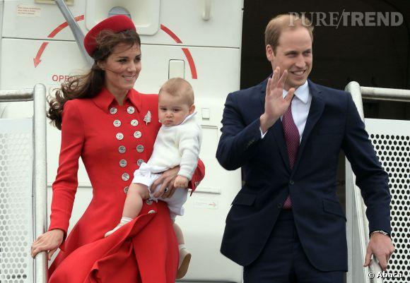 Kate Middleton et Prince William savent faire des arrivées remarquées avec leur bébé.