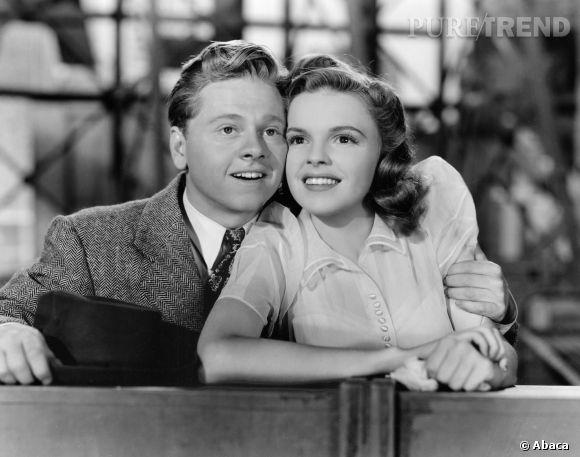 Mickey Rooney et Judy Garland, sa grande complice sur le grand écran.