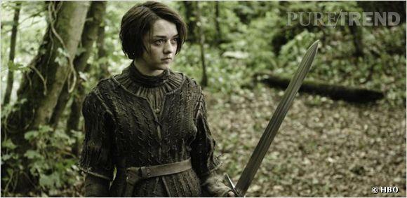 Arya Stark, une jeune fille qui ne se laisse pas marcher sur les pieds.