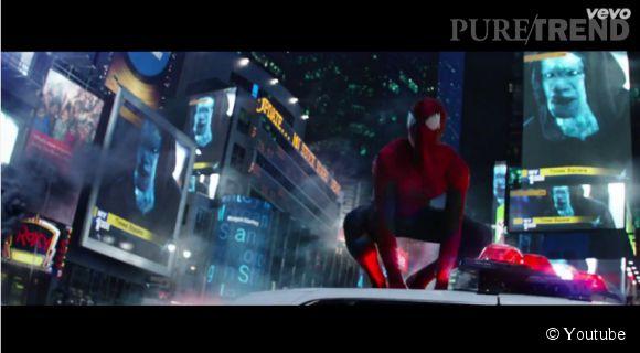 """""""The Amazing Spider-Man 2"""" se dévoile un peu plus en musique dans le clip """"It's on Again""""."""