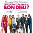 """""""Qu'est-ce qu'on a fait au Bon Dieu"""" débarque au cinéma ce mercredi 16 avril 2014."""