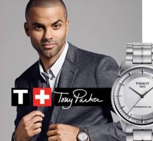 Tony Parker : le futur papa joue les gentlemen pour Tissot