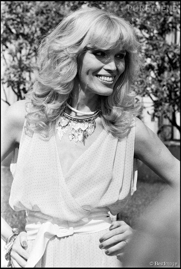 Aanda Lear au Festival de Cannes en 1979.