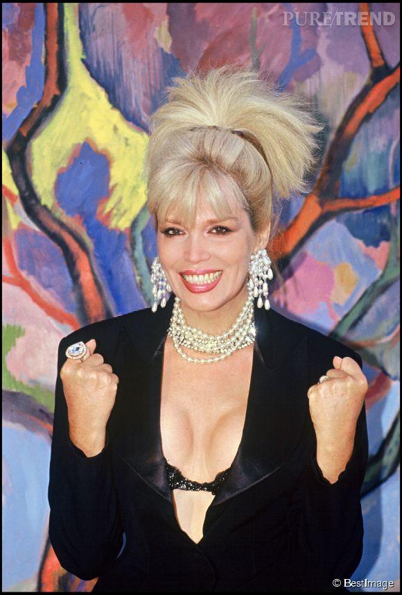 Amanda Lear en 1991.