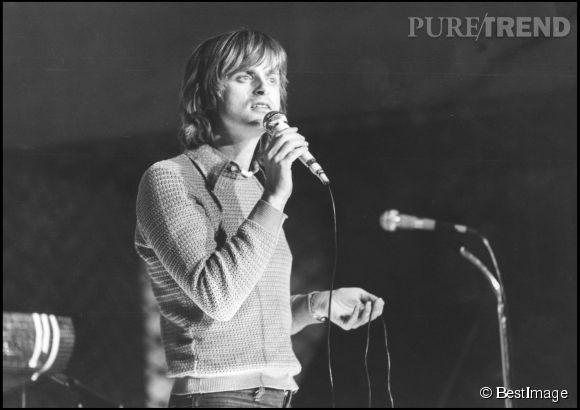 Dave sur scène en 1978.