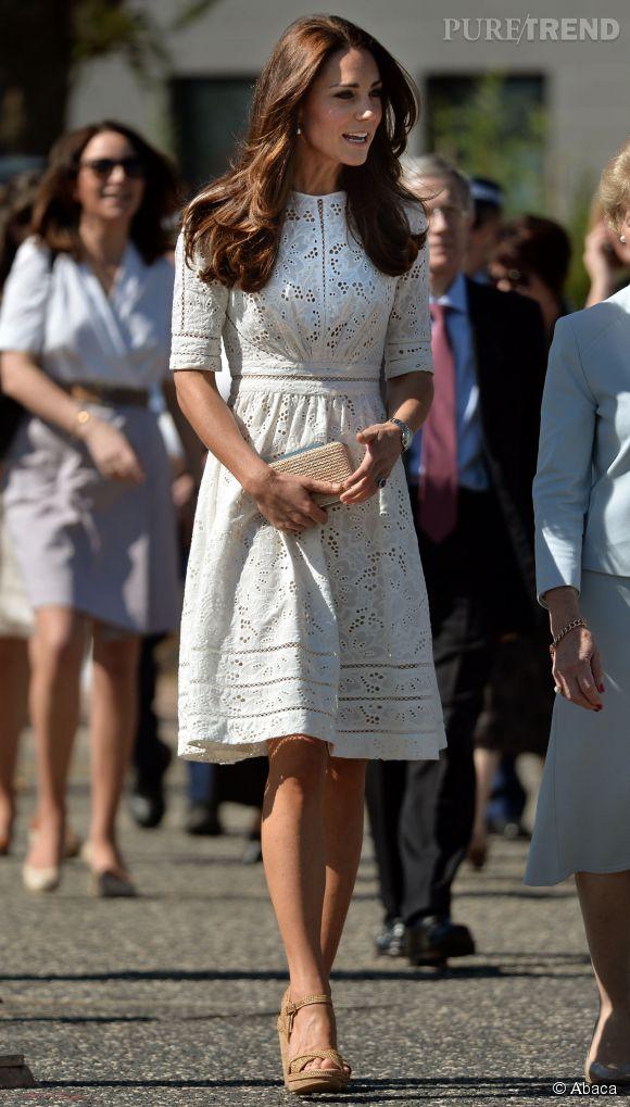 Kate Middleton Sydney Elle Charme Fred Sous Le Nez Du Prince William