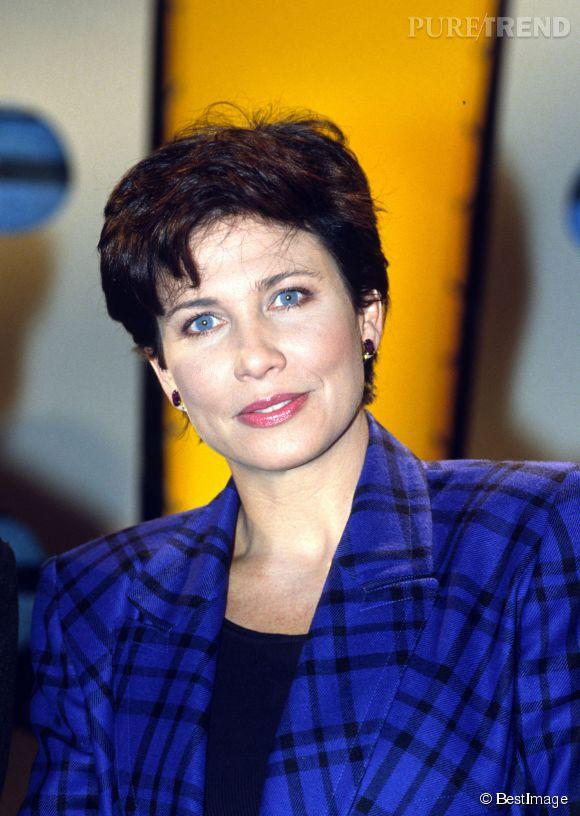 Anne Sinclair, le regard bleu azur du PAF.