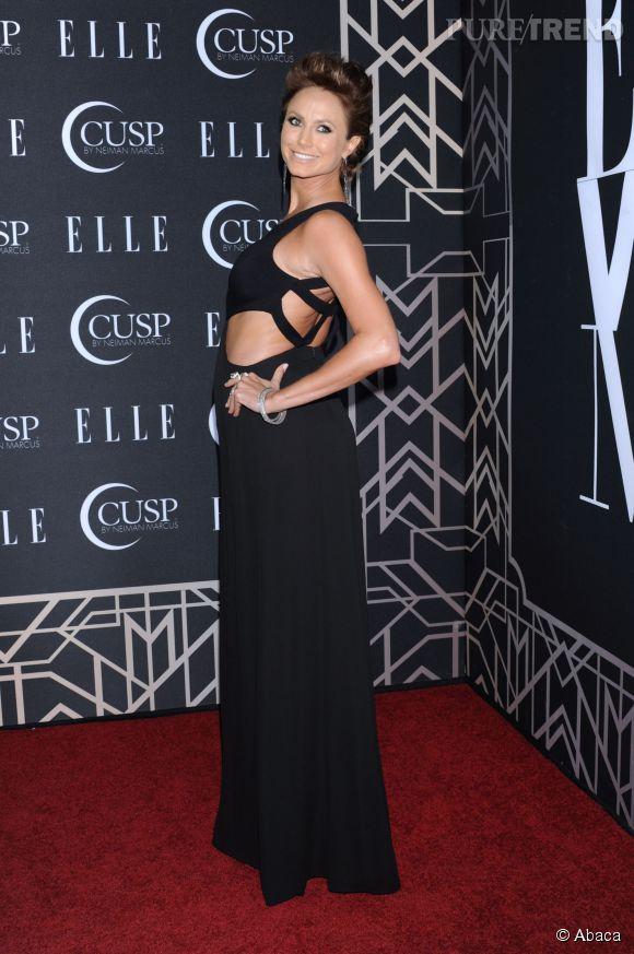 Stacy Keibler lors de la soirée des Elle Women in Music le 22 avril 2014 à Los Angeles.
