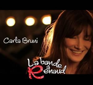 Carla Bruni participe au projet de La bande à Renaud, album de reprises de l'interprète de Mistral gagnant.