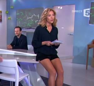 Claire Barsacq (C à vous) : gros buzz grâce à... un mini short