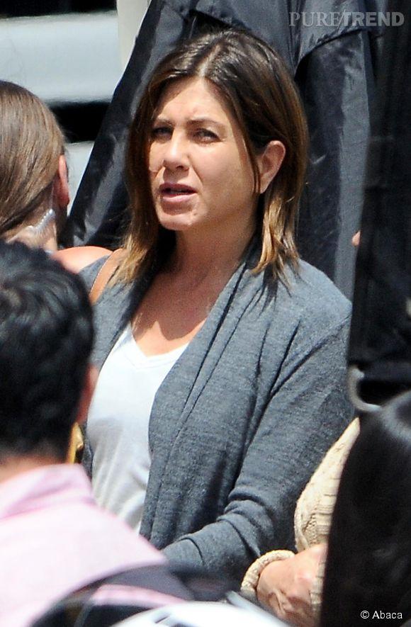 """Jennifer Aniston s'est enlaidie pour son nouveau film, """"Cake""""."""