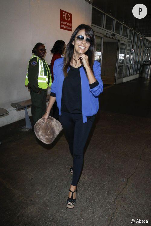 Eva Longoria à l'aéroport de Los Angeles... un look à copier !