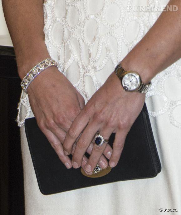 Kate Middleton A Re 231 U Une Montre Cartier En Cadeau Pour