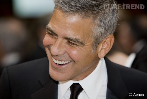 George Clooney en 2012.