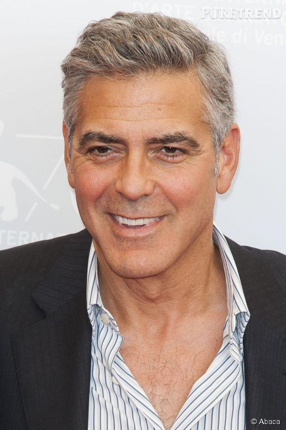 George Clooney en 2013.