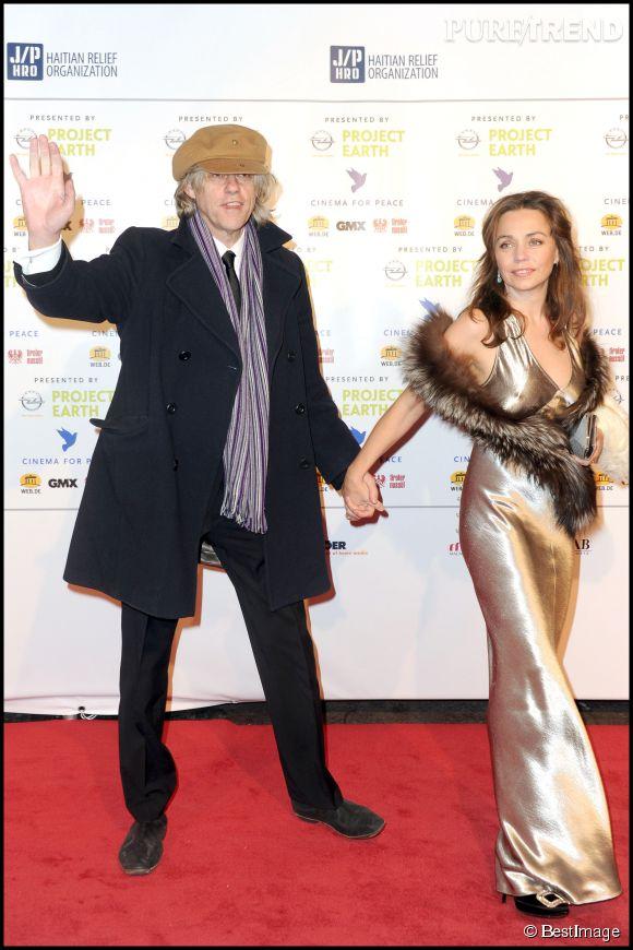 Bob Geldof s'est aussi fiancé à sa compagne depuis 18 ans, Jeanne Marine.