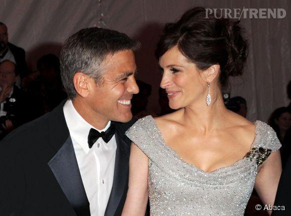 George Clooney et Julia Roberts en 2008.