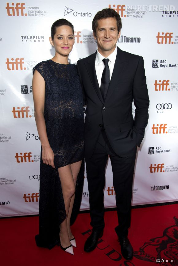 Marion Cotillard et Guillaume Canet, couple star à Hollywood.