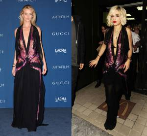 Rosie Huntington-Whiteley vs Rita Ora : la robe Gucci glamour à sequins