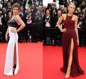 Adèle Exarchopoulos vs Blake Lively : le fendu sexy de Cannes 2014