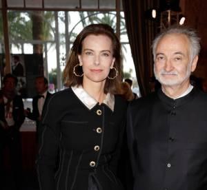 Cannes 2014 : Carole Bouquet, le mariage du chic et du glamour