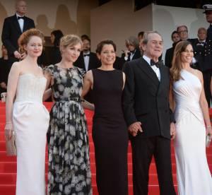 Cannes 2014 : Hilary Swank, Léa Seydoux... la montée des marches du week-end