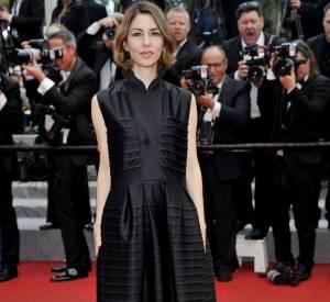 """Sofia Coppola à la projection du film """"Saint Laurent"""", samedi 17 mai lors du 67ème Festival de Cannes."""