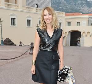 Alexandra Golovanoff au défilé Croisière 2015 Louis Vuitton.