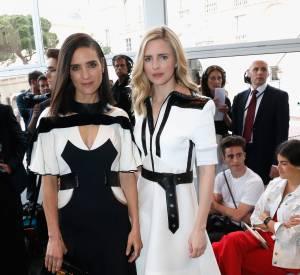 Jennifer Connelly et Brit Marling au défilé Croisière 2015 Louis Vuitton.