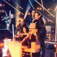 """Dans """"The Voice 3"""",  Florent Pagny a retrouvé Jenifer, gagnante de la Star Ac l'année où le chanteur était parrain de la promo (2001)."""
