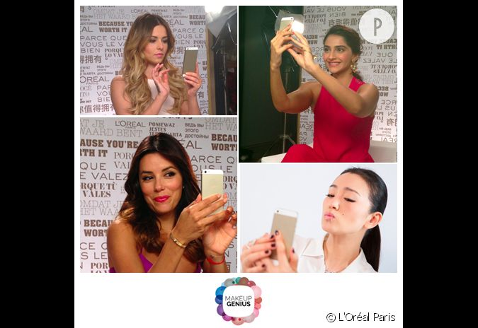 L'application de l'Oréal Paris, Makeup Genius, a eu ...