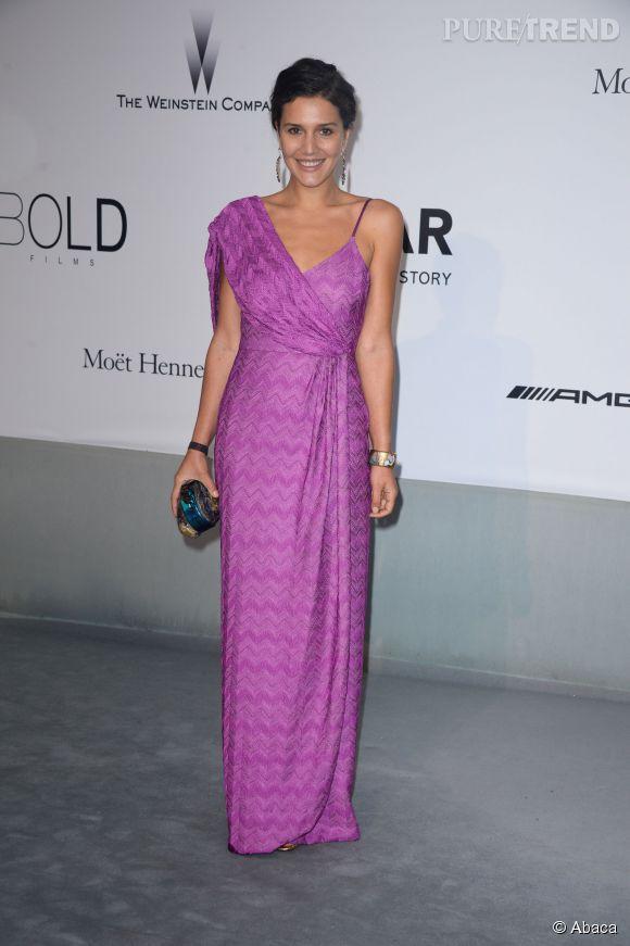 Margherita Missoni en Missoni au gala de l'amfAR à l'Hôtel du Cap le 22 mai 2014.