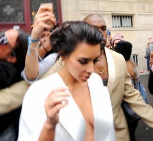 Mariage : Kim Kardashian, un décolleté en apesanteur pour danser à Versailles