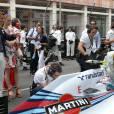 Pierre Casiraghi et Béatrice Borromeo au Grand Prix de Monaco le 25 mai 2014.