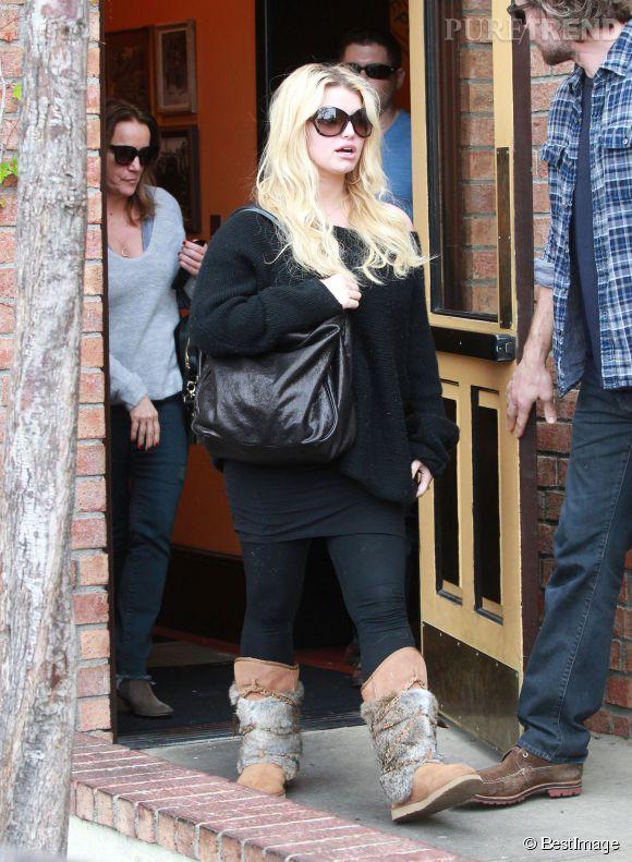 Avec ses deux grossesses rapprochées, Jessica Simpson a eu des soucis de poids.