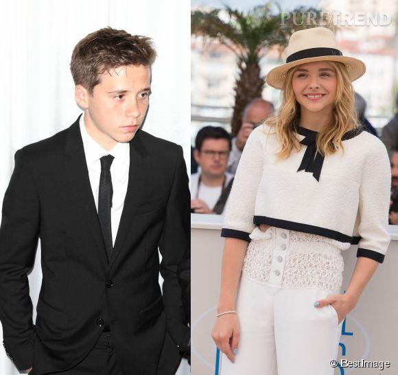 Brooklyn Beckham et Chloe Moretz ont été aperçu en train de se balader à Santa Monica, vendredi 30 mai 2014.