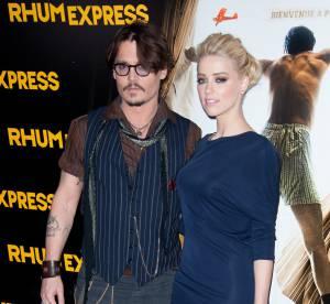 Johnny Depp et Amber Heard, un bébé cet automne ? C'est son père qui le dit !