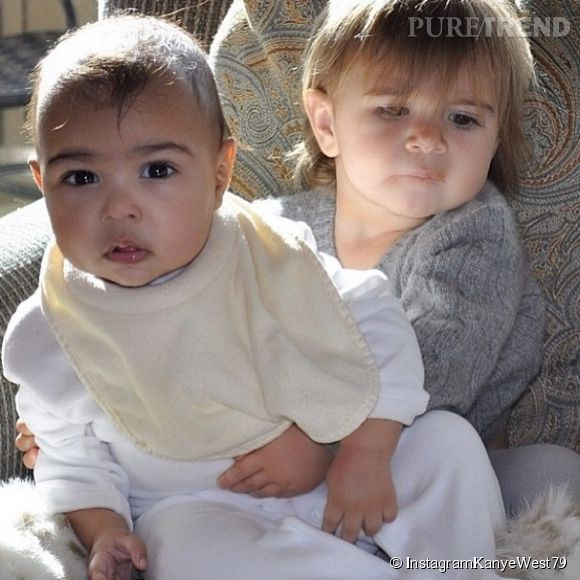 North West et sa cousine Penelope.
