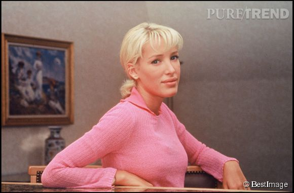 Ophélie Winter, icône des 90's, en 1996.